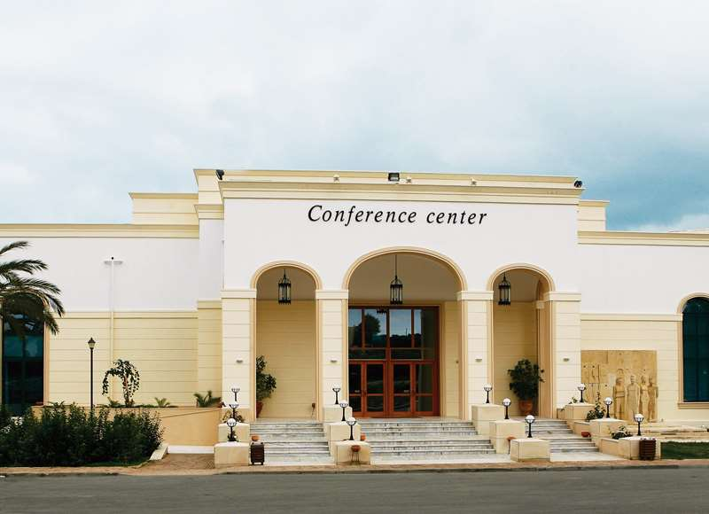 Creta Convention Centre Entrance